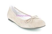 Superfit Ballerina in taupe Velourleder, Gr. 40