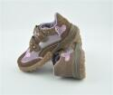 Superfit Sneaker in fango/ rosa. Gr. 31
