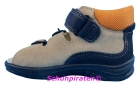 Superfit Lauflernschuh / Sandale in blau/sand/orange Gr. 20