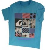 Quiksilver T-Shirt 3 not too late blau, Gr. 164 + 176