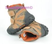 Geox Winterstiefel braun/orange, Gr. 24