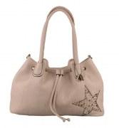 BULAGGI Handtasche/Henkeltasche in beige STERN