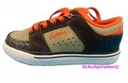Quiksilver Skaterschuhe braun/orange, Gr. 34 fällt klein aus