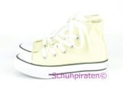 Converse Chuck hoch in pastell GELB (light yellow), Gr.  32