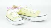 Converse Chuck kurz pastell GELB (light yellow), Gr. 21