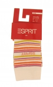 Esprit Socken weiß Streifen, Gr.23-26