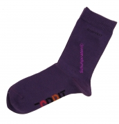 Esprit Kinder Socken in dunkellila im Doppelpack, Gr. 23-26