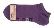 Esprit Sneaker-Socken lila Doppelpack, Gr. 27-30