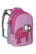 Lässig Kindergarten Rucksack Elefant pink