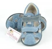 Ricosta Zehenschutzsandale KENO jeansblau, Gr. 20 + 22
