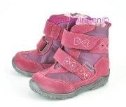 Ricosta Winterstiefel SURI mit Blinkfunktion pink, Gr. 22-23 +26