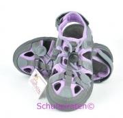 Ricosta Zehenschutzsandale SHAN grau/lila, Gr. 38-39