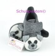 Rohde warme Hausschuhe grau, Bär, Gr. 18-19