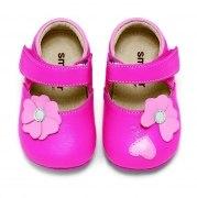 See Kai Run smaller Hausschuhe MIDORI in pink, Gr. 18 + 21