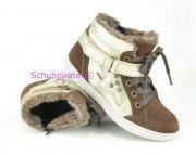 Superfit gefütterte Halbschuhe gold/braun, Gr. 29-33 + 35 + 38-40
