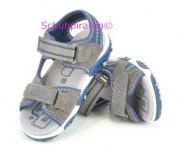 Superfit Sandale grau/blau, Gr. 25 + 32-35