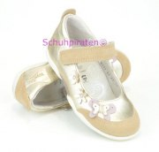 Superfit Ballerina gold/beige Schmetterling, Gr. 25-30
