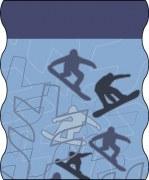 TWISTER Multifunktionstuch FLEECE in blau (Adult)