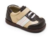 See Kai Run modischer Lauflerner Modell EMILIO im Sneaker-Look in braun/beige Gr. 20 fällt eher knapp aus!