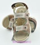 Geox Sandale braun/olivgrün, Gr.  33