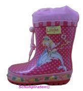 Lillifee Gummistiefel rosa/pink mit Lillifee Delphin Motiv, Gr.  35