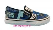 Quiksilver Chuck Slip in blau/schwarz/weiß Gr. 29 + 30