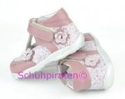 Richter Erstlingsschuhe - Ballerina rosa und altrosa, Gr. 20 + 21