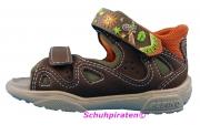 Ricosta Lauflerner Sandale COMPI braun/orange Gr. 19