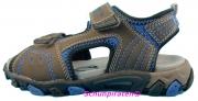 Superfit Sandale 2-fach Klettverschluß in grau/blau Gr. 40