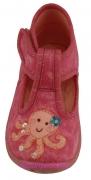 "Superfit Hausschuhe in pink ""Krake"", Gr. 19"