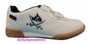Sharky Turnschuhe mit heller Sohle in weiß Gr.  29