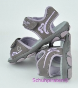 Superfit Sandale in stone/flieder, Gr. 31