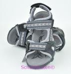 Superfit Sandale schwarz/grau, Gr.  34