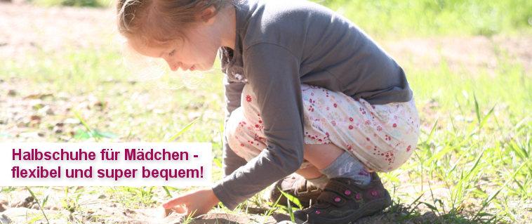 Halbschuhe Mädchen - flexibel und super bequem!