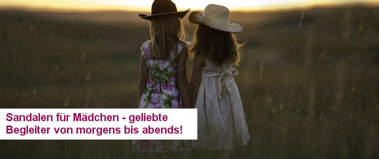 Sandalen für Mädchen - treue Sommerbegleiter von morgens bis abends!