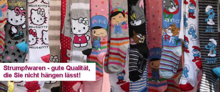 Strumpfwaren für Kinder - gute Qualität, die Sie nicht hängen lässt!