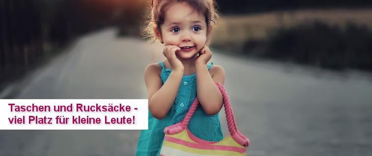 Taschen und Rucksäcke für Jungen und Mädchen - viel Platz für kleine Leute