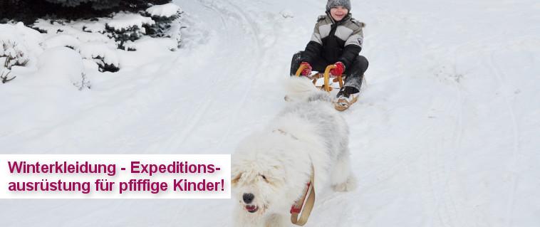 Winterkleider für Kinder - Expeditionsausrüstung für pfiffige Kinder!!